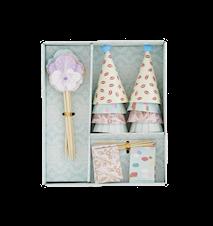 Box med 24 dekorationer för tårta