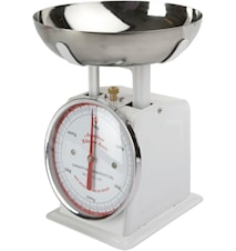 Køkkenvægt Hvid