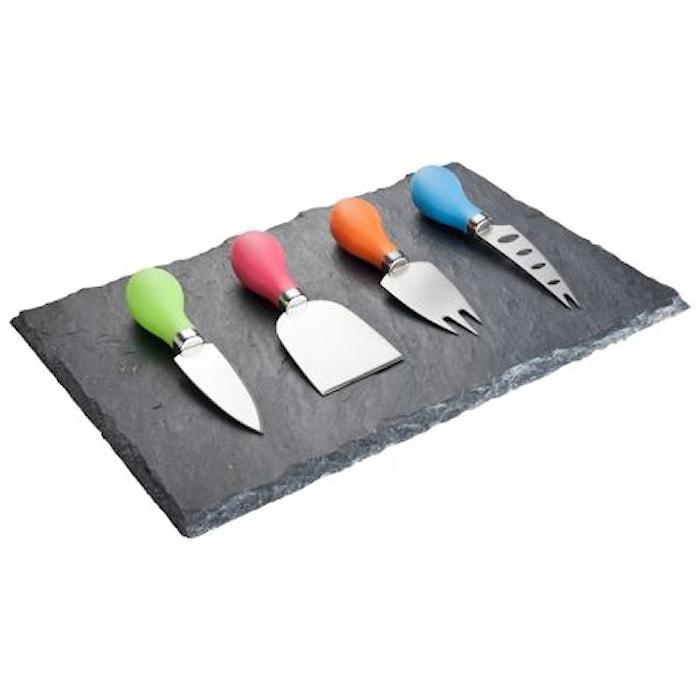 Ostset 4 Knivar Färger