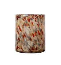 Vase / lysestake Flerfarget 24 cm