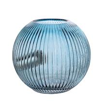 Bordslampa Blå Glas