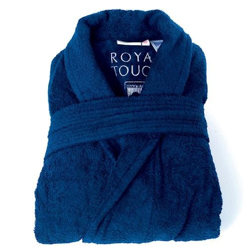 Morgenkåpe ROYAL TOUCH Velvet Blue M