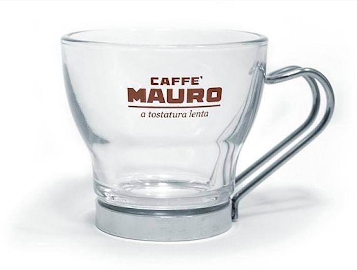 Espressoglas med handtag