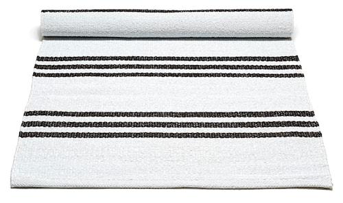 Plastic matta -White/Chocostriped, 140x200
