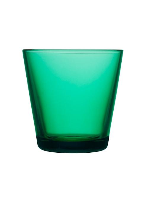 Kartio drikkeglas 21 cl emerald 2 st