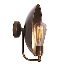 Cullen industrial dish væglampe
