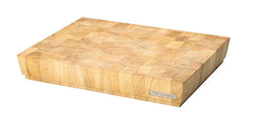 Skjærebrett, gummitre, 48x36x7,3 cm
