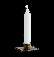 Iron palm tree candle holder
