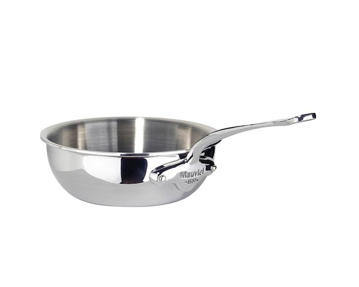 Cook Style Sautépanna Rundad 0,8L Blank Stål