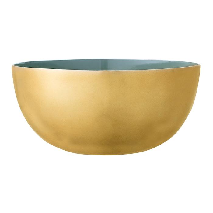 Skål Grön Aluminium 15x7cm