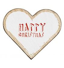 WOOD Sydän Joulukortti