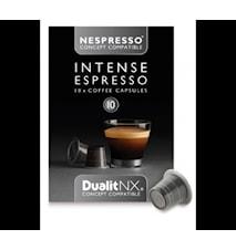 Kaffekapsel Intense N/X 10-pack