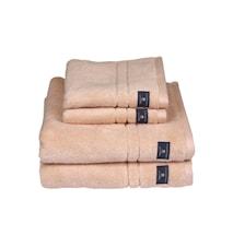 Premium Håndklæde Fersken 30x50 cm
