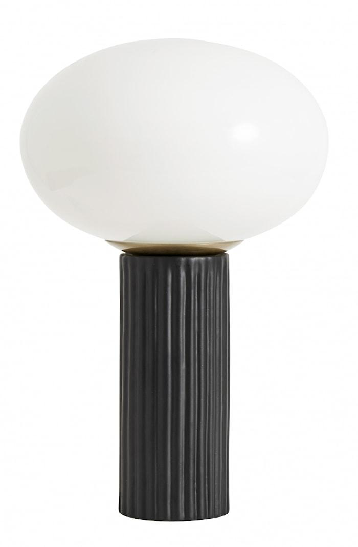 Bordlampe Opalglass
