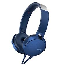 Headset MDR-XB550AP Blå