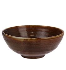 Kyoto Salladsskål Brun 18x18x7 cm