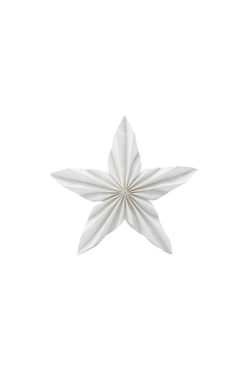 Ornament Star 25 cm - Hvit