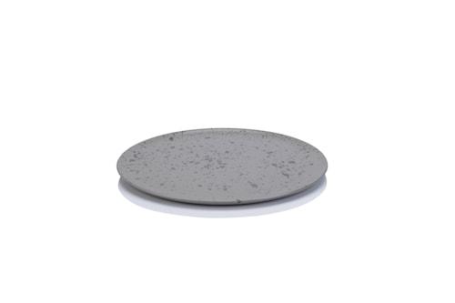 Raw Frukosttallrik 23 cm Grå
