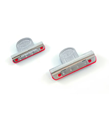 Slipfixturer clips med plastinlägg 2 storlekar