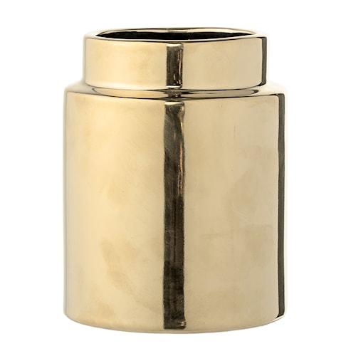 Vase Guld Stentøj 10x12,5cm