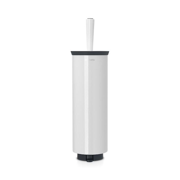 Toalettbørste med holder 125x430 mm Pure White
