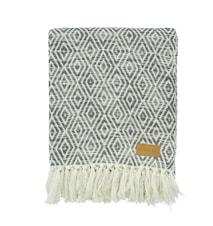 Rapha Tæppe 125x150 - Blå