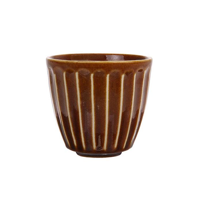 Kyoto Mugg Keramik Brun 22,5 cl
