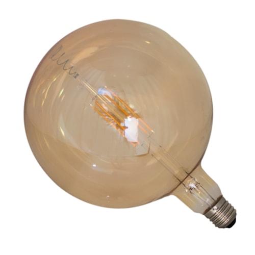 Glödlampa LED dimbar E27 Ø18 cm