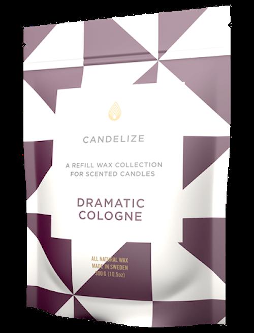 2-pack Doftljus refill - Dramatic Cologne 300 g