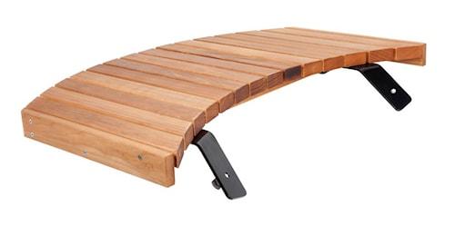 Originalt sidebord til stegeplade 100 cm