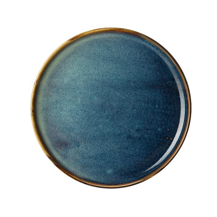 Ocean Assiett 20cm Blå