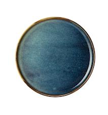 Ocean Side plate 20cm Blue