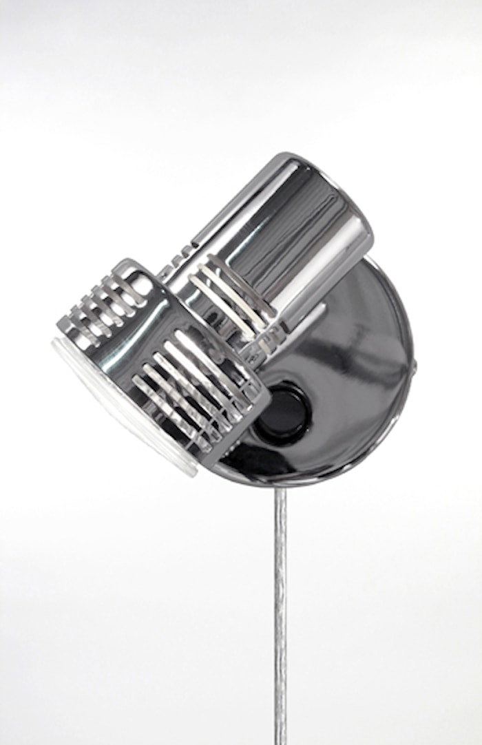 Vägglampa Axel 1 Krom