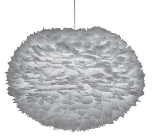 Eos Lampe Large 65 cm Lys Grå