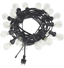 Bright light string m. pære klar 12m