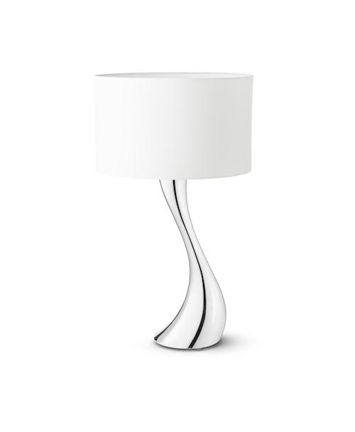 Cobra Bordlampe 56 cm Hvit/Aluminium