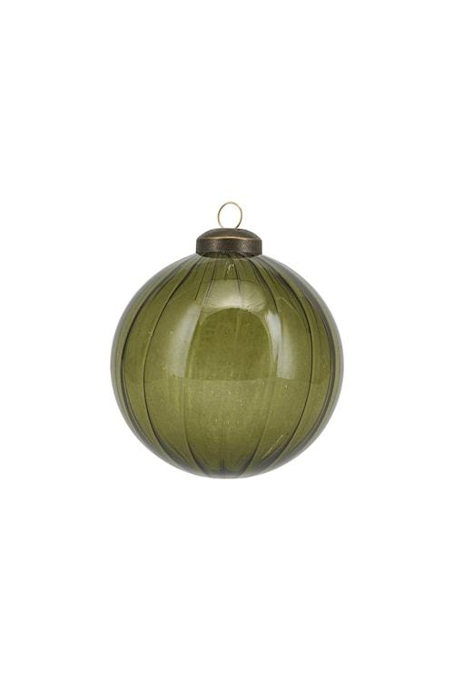 Ornament Cleary Ø 8 cm - Grön