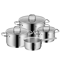 Inspiration Stockpots with lids (3) and saucepan