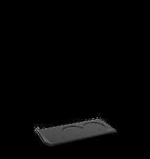 Alpha ställ akryl svart