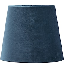 Mia Fløyel Blå 20 cm