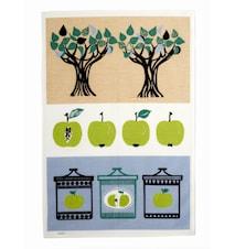 Omenahillo, Keittiöpyyhe, Vihreä