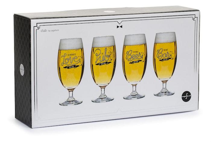 Club ølglas, 4-pack