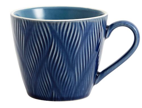 Kopp LEAF Ø 12 cm - Blå