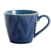 Kopp LEAF Ø 12 cm Blå
