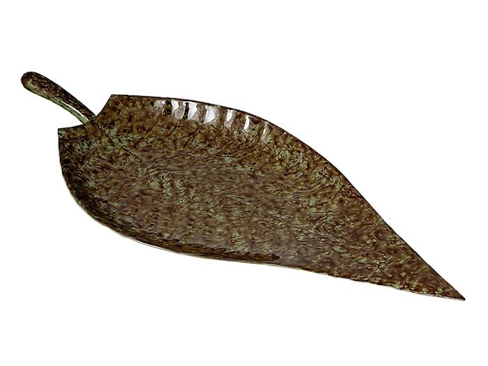 Fat Handmålad plåt Hårdlackat Mossgrön 40 cm