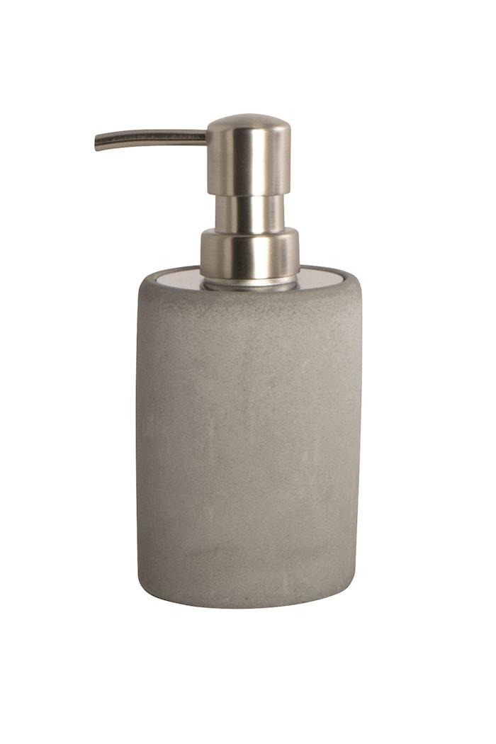 Tvålpump Cement Ø 8x17 cm Grå