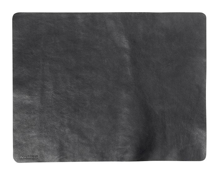 Bordsunderlägg Camou Svart Buffaloläder 35x45 cm