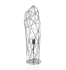 Bordslampa Diamond Statue Krom
