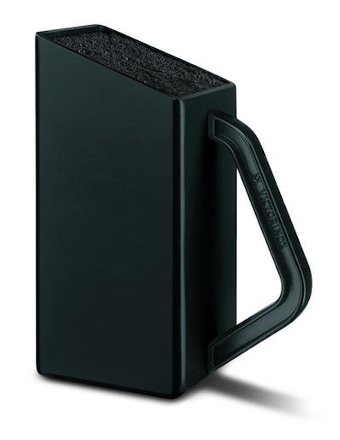 SwissClassic Liten knivblokk svart uten kniver