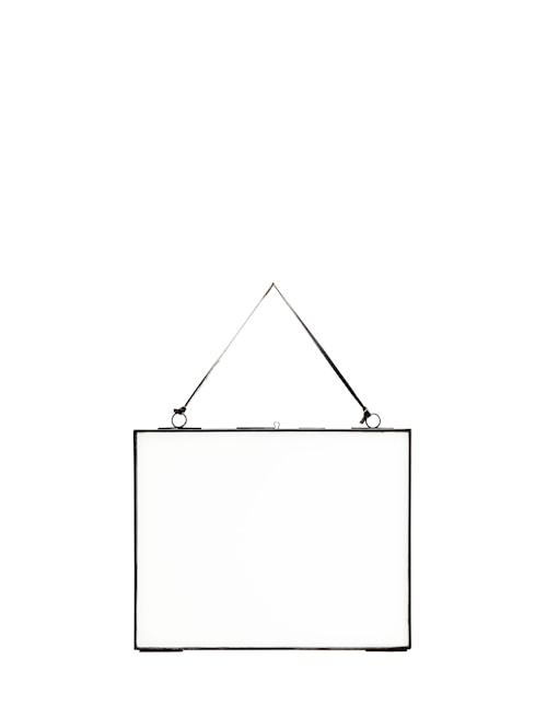 Upphängningsbar fotoram 25x20 cm - Svart